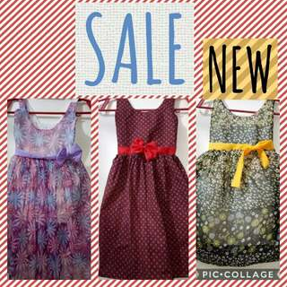 New: Dress for kids On hand 3-5yrs old