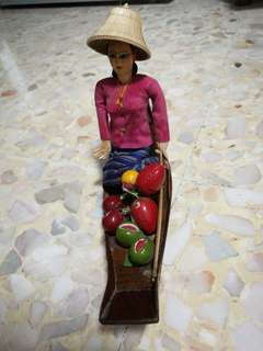 Thai floating Market boat souvenir