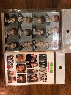 EXO's Special Set and EXO-M's postcard set