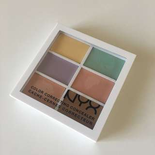 NYX correcting concealer palette