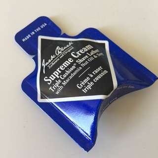 Jack Black supreme cream sample size