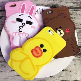 韓國直送!line friends立體iPhone case