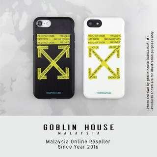 Off White iPhone Case for i6 i6s i6p i6sp i7 i7p i8 i8p ix