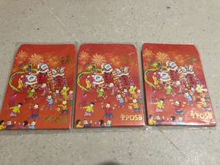 POSB Red Packets Angbao