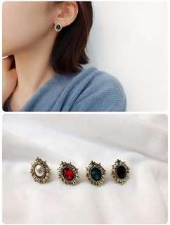 韓國東大門代購復古造型耳環