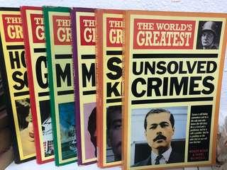 The World's Greatest Series by Roger Boar & Nigel Blundell