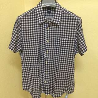 GAP flannel S/S shirt