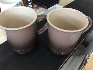 2 Le Creuset mugs