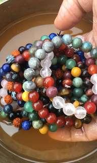 Crystals stone semi-precious Bracelets jewelry