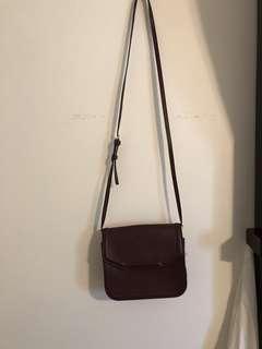 Super cute maroon bag