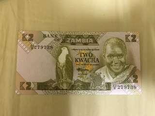 Zambia Banknote