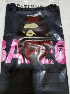 BAPE Camo Pink Font tee