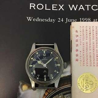 古董 亞米茄 二次大戰英軍 OMEGA 手錶 8成新 行走正常 SEiKO