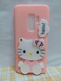 🚚 三星 S9plus 粉色kt 帶鏡子手機軟殼
