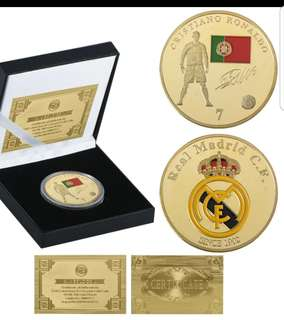 Souvenir CR7 Gold Coin