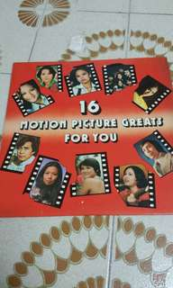 16 motion picture greats for you 黑膠唱片
