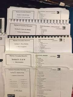 全套CWSHAM notes影印本DSE Physics (包E2,E3)
