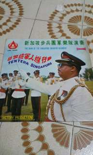 星加坡步兵團軍樂隊演奏黑膠唱片