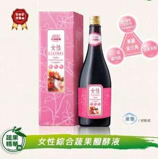 🚚 【原廠】大漢女性綜合蔬果醱酵液