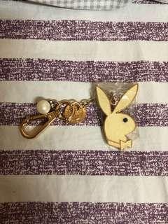 🚚 Playboy 兔頭鑰匙圈