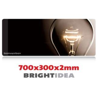 BRIGHT IDEA 7030 Extra Large Mousepad Anti-Slip Gaming Office Desktop Coffee Dining Tabletop Decorative Mat