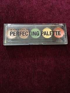 City color concealer palette