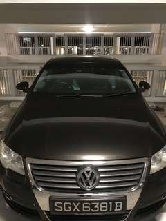 Car window film (Vw Passat)