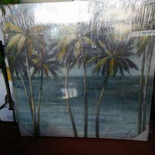 Canvas art painting