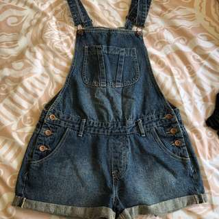 Cotton On Size 10 Denim Overalls