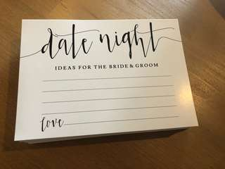 100+ Date Night Wedding Cards