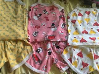 (Bundle)Baby Girl Cute Terno