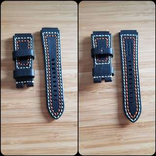 Brand New 24mm Leather watch straps
