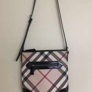 Authentic Burberry Nova check cross body