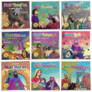 1 set 25buku cerita tentang nabi