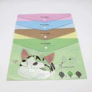 File Folder Cat Anime Manga PO