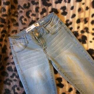 Light Blue Stretchy Jeans