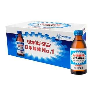 costco線上代購 #99894 LIPOVITAN 力保美達能量補給飲料 24瓶(150毫升X24瓶)