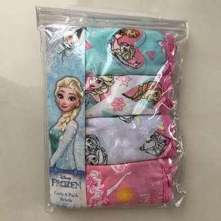 Frozen underwear set for 4-6 years old