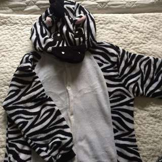 Zebra Onesie FOR RENT