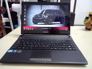 Asus Thin i5/win7/4Gb/320Gb Hdd/14inch /Gaming