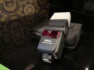 Nikon SB600 external flash