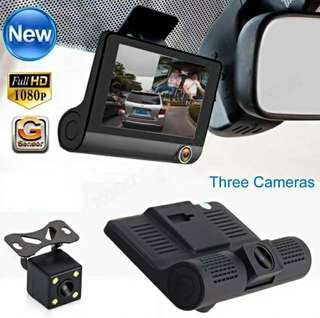 THREE Camera Dash Cam