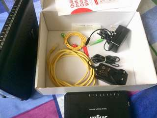SingTel gigabit router
