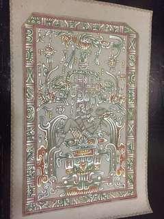 墨西哥手繪圖騰皮革