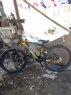 selling trinx bike steel 27 eirs 7 speed allstock shimano standard