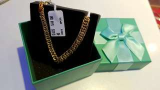 [INSTOCK] 916 Gold Bracelet