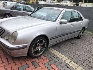 Mercedes E240 NGV