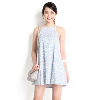 Lilypirates Delightfully Charming Dress in Sky Prints