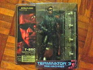 Terminator 3, T850 with coffin. MOC.