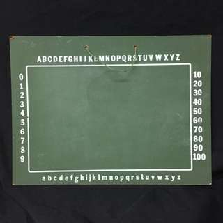 VINTAGE GREEN CHALKBOARD (RENTAL ONLY)